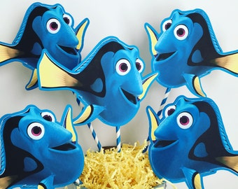 Finding Dory Set of 5 Centerpiece Picks (Double-Sided)