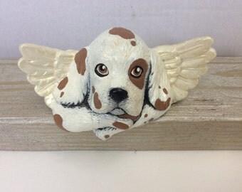 Angel Dog Shelf Sitter