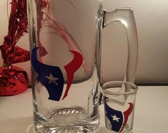 Texans Drink Set