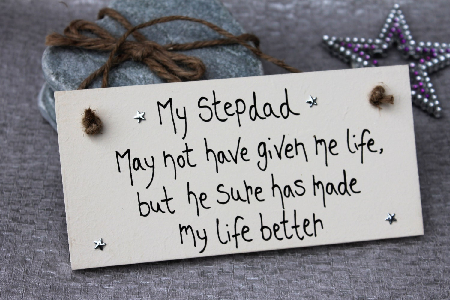 Stepdad Stepdad Gift Gift for Stepdad Step Father Gift