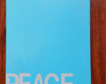 Peace art work