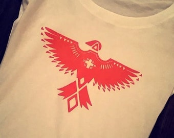 thunderbird hawk shirt