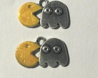 Pac Man Charms