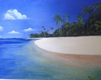 Original Oil Painting Handmade