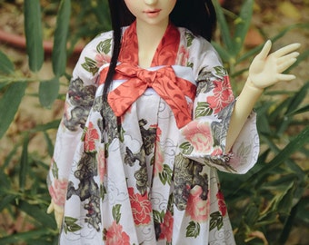 BJD Chinese style girl dress