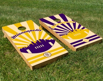 Minnesota Vikings Cornhole Board Set