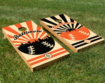 Baltimore Orioles Cornhole Board Set