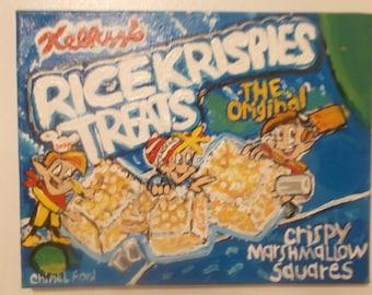 Rice krispie Treats (pop art)