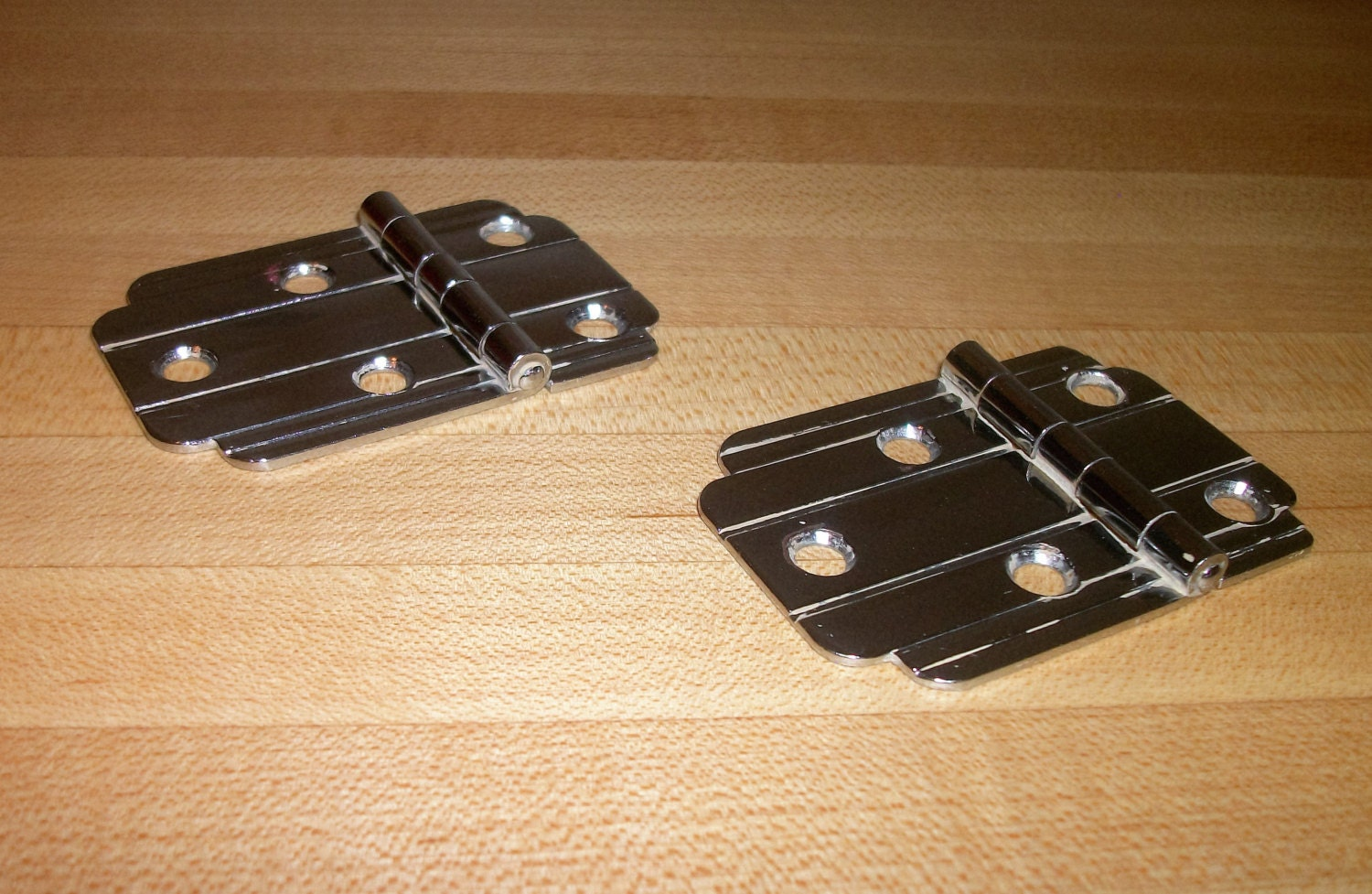 Art Deco Flush Mount Cabinet Hinges Pair From Thegreenbungalow On  # Muebles Sortimo