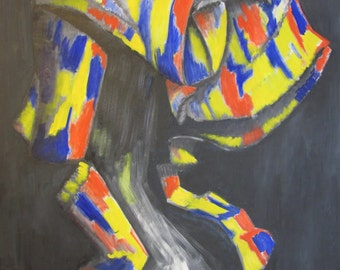 Abstract in Primary Colors