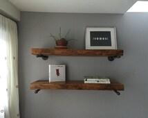 Oak Shelving and brackets