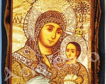 The Miraculous Icon of the Most Holy Virgin of Bethlehem