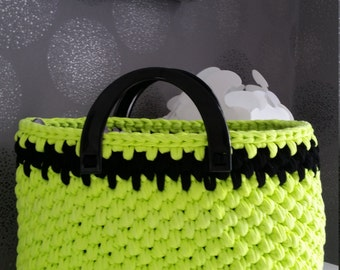 Shopper neon green