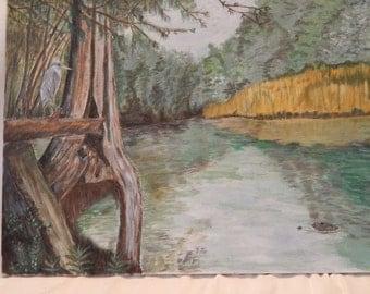 Black River Landscape