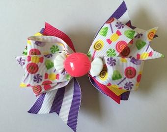 Candy Hair Bow