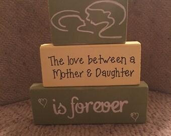 Mother daughter block set
