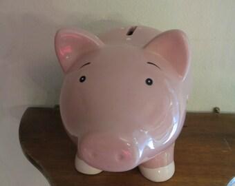 Original Polka Dot Piggy Coin Money Bank