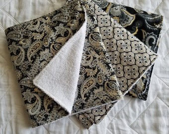 Life's Eternal Revolution Burp Cloth set