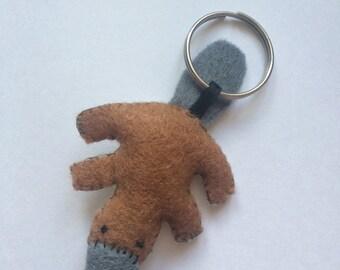 Handmade Platypus Keyring