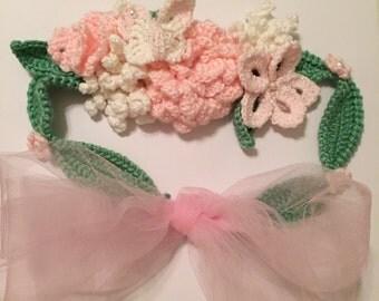 Crochet Maternity Sash
