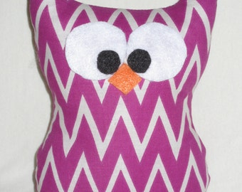 Plush Owl with Poem