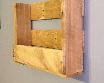 Rustic Wood Shelf, Mail Holder, Bathroom Shelf, Book shelf, Home Decor