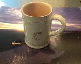 Fly Fishing Mug, Denby Stoneware