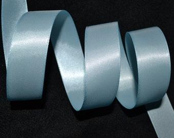 10 YARDS!!!!, 7/8 double sided satin ribbon, LIGHT BLUE , ribbon, satin,light blue ribbon, satin ribbon, diy crafts, diy