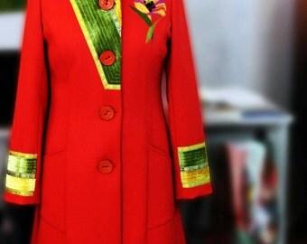 Coat original woman