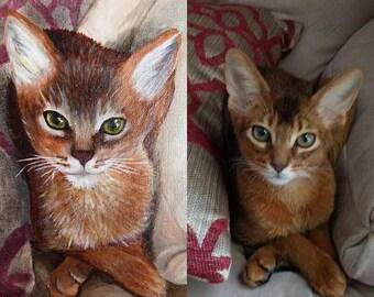 Custom Pet Paintings (commision)