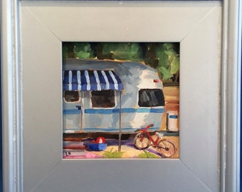 Airstream in the park
