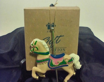 Avon-Horse Merry-go-Round Carousel