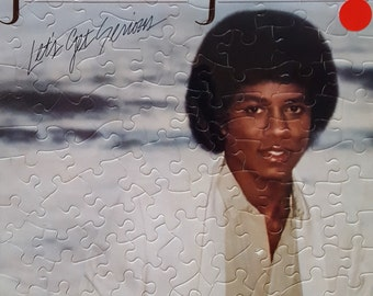 Jermaine Jackson Let's Get Serious Album Cover Puzzle
