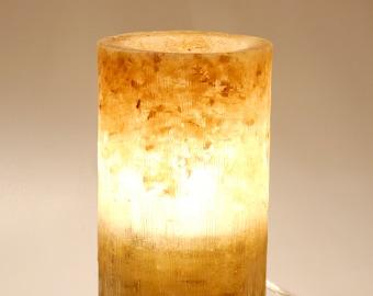 "Lamp, Lighting, Table Lamp, Wood Lamp, Wooden Desk Lamp, Wood Table Lamp, Birch, Glowing Lamp, Epoxy, Resin, Deadwood Lamp ""BETULO"""