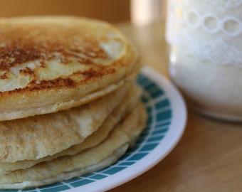 Protein Pancake Mix- Your Choice of Vanilla, Chocolate, Peanut Butter, Cinnamon Roll- Vegan, Gluten Free, Sugar Free, Paleo, Breakfast