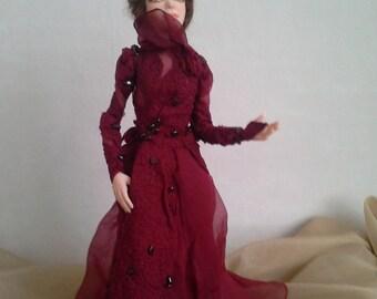 """Art doll interior doll """"Garnet"""""""