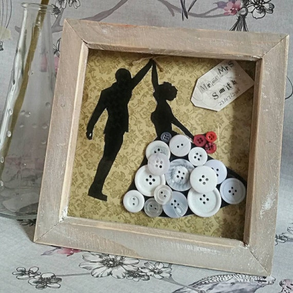 Wedding Gifts For Parents The Knot : Wedding gift / Personalised wedding gift / Tied the knot / Wedding ...