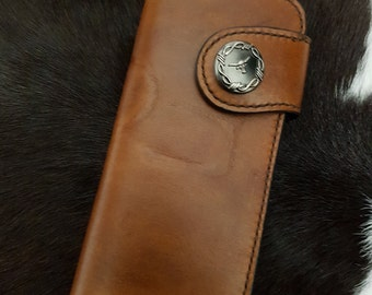 Leather  wallet  ladies  western  branded
