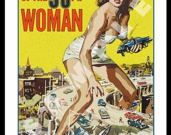 Attack of the 50FT Woman - 1958
