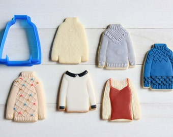 High neck sweater Cookie Cutter