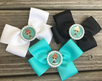 Audrey Hepburn Bow / Breakfast at Tiffany's Bow / Cute Girl Bow