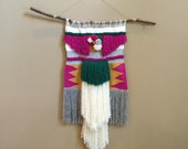 SALE NOW! Extra Large Boho Beauty Woven Wall Hanging
