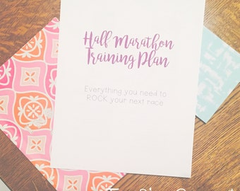 Half Marathon Training Plan (Beginner-Advanced)