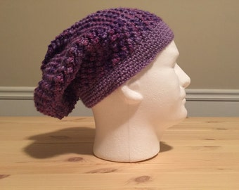 Purple Madness Slouch Beanie
