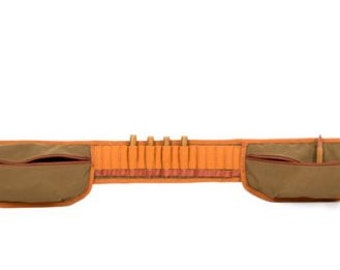 cartridge belt for carbine with two pockets