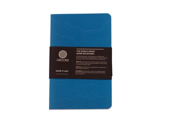 Softcover Rockbook Ocean - Notebook made from stone