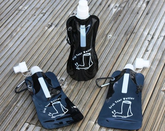1000ml Roll up drinks bottle with belt clip