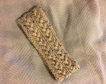 Hand-Knit Cable Earwarmer (Made to order)