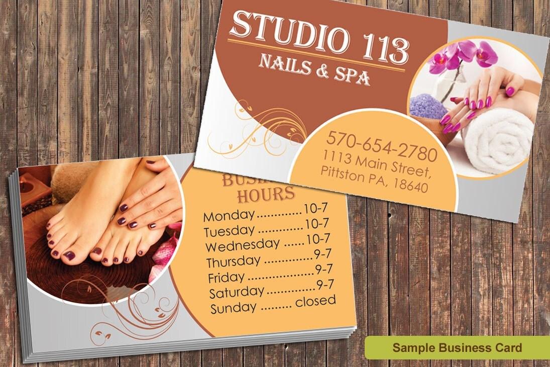 Salon business card | Etsy