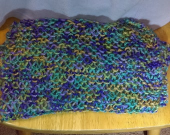 light open work lacy scarf